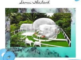 Marine Hill villa, glamping site in Bophut