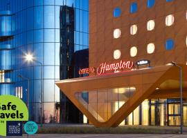 Hampton by Hilton Saint-Petersburg ExpoForum, отель в Санкт-Петербурге