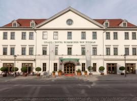 Best Western Premier Grand Hotel Russischer Hof, hotel near Train Station Weimar, Weimar