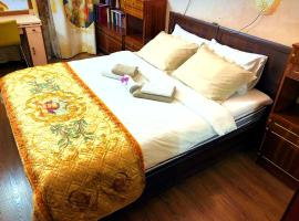 Big 3-room apartment / Большая 3х комнатная квартира, отель в Москве