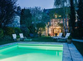 Hotel Spa - Au Charme Rabelaisien, hôtel à Amboise