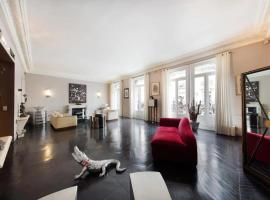Apartment with 2 bedrooms in Paris with wonderful city view furnished balcony and WiFi, hotel pet friendly a Parigi