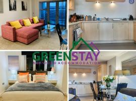 """""""Clarence Court Newcastle"""" by Greenstay Serviced Accommodation - Stunning 1 Bed Apartment, Ideal For Business Travellers, Families & Relocations, Short & Long Stays - Parking, Balcony, Netflix & Wi-Fi, Close to Shops & Restaurants, hotel near Newcastle Train Station, Newcastle upon Tyne"""