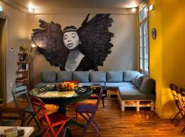 Nubian Hostel, hostel in Athens