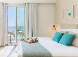Albatros Beach Hotel, hotell i Letojanni
