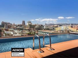 Negresco Princess 4* Sup, accessible hotel in Barcelona