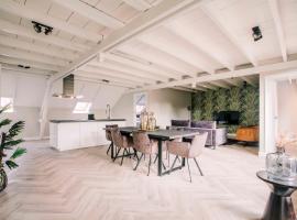 Stadsvilla Luxurious 3 room loft met airco Willem 2, apartment in Tilburg