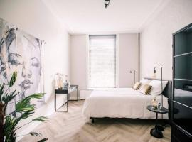 Stadsvilla Tilburg 3 luxe kamers met tuin Anna Paulowna, apartment in Tilburg