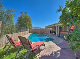 Pet-Friendly Tucson Home with Heated Pool and Hot Tub, pet-friendly hotel in Tucson