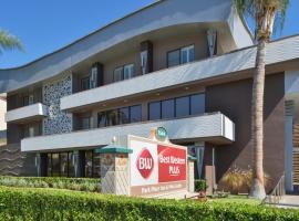 """Best Western Plus Park Place Inn - Mini Suites, viešbutis mieste Anaheimas, netoliese – Pramogų parkas """"Disneyland"""""""