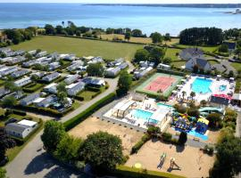 Camping de Keranterec, hôtel à bas prix à La Forêt-Fouesnant