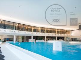 Park Inn by Radisson Meriton Conference & Spa Hotel Tallinn – hotel w Tallinnie