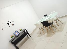 J&A Green & Refreshing Home with 3 rooms 7 pax BM, apartment in Bukit Mertajam
