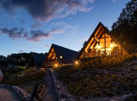 Chalets Na'Thur lodge, cabin in Fellering