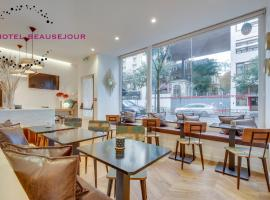 Hotel Beausejour, hotel near Gambetta Metro Station, Paris