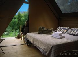 Glamping Pian delle Ginestre, glamping site in Sassetta