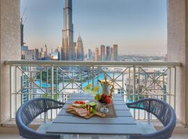 Durrani Homes - Designer two bedroom with stunning Burj khalifa and fountain view, apartment in Dubai