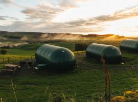Hillhead Farm Luxury Glamping Pods, Dumfries, Scotland, luxury tent in Dumfries