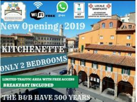 B&B - Residenza d'epoca Piazza Cairoli, hotel pet friendly a Pisa
