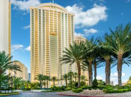 Strip View - No Resort Fee - Free Valet - MGM Condo 1519, villa in Las Vegas
