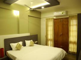 oakhaven service apartments single room with balcony, hotel in Bangalore