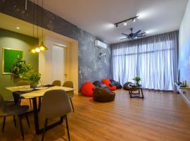 Bukit Jalil Luxury Suite by NestHome [Pavilion Bukit Jalil], serviced apartment in Kuala Lumpur
