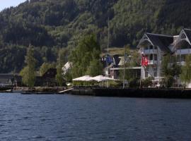 Thon Hotel Sandven, hotell i nærheten av Hardangervidda i Norheimsund