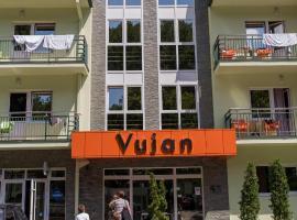 Clinic for Rehabilitation Vujan, hotel in Čačak