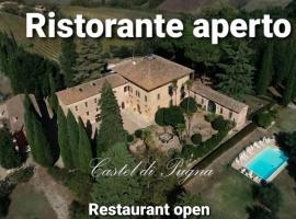 Castel di Pugna, country house in Siena