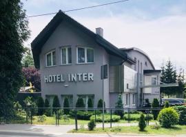 Hotel Inter, hotel in Bielany Wrocławskie