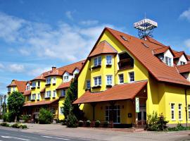 Landgasthof Zur Goldenen Aue, hotelli kohteessa Nordhausen