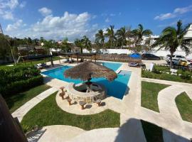 HOTEL & BEACH CLUB OJO DE AGUA, hotel in Puerto Morelos