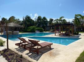 HOTEL & BEACH CLUB OJO DE AGUA, hotel en Puerto Morelos