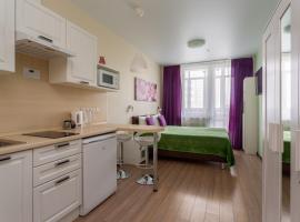 ABC Aparts Vnukovo БЕСКОНТАКТНОЕ заселение, hotel near Rasskazovka Metro Station, Pykhtino