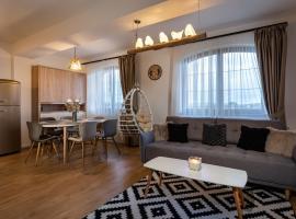 GOLDENapartment, hotel near Black Stork Golf Club, Veľká Lomnica