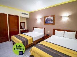 Hotel El Español Centro Historico, hotel in Mérida
