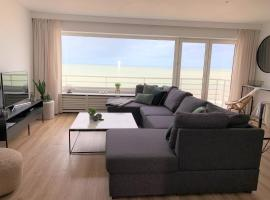 BEACH LOFT 9 luxury appartment with ocean view, budget hotel in Blankenberge