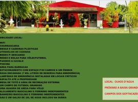 Pousada chacara Recanto verde, accessible hotel in Campos dos Goytacazes