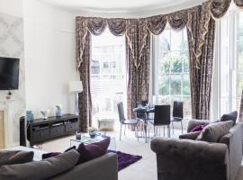Luxury Canary Wharf Apartment with Parking, hotel in London