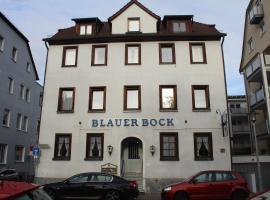 Hotel Blauer Bock, hotel in Esslingen