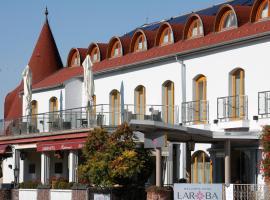 Wellness Hotel Laroba, hotel Alsóörsön