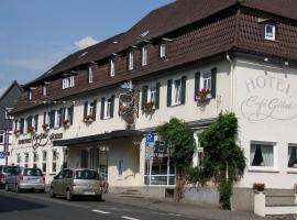 Unser kleines Hotel Café Göbel, khách sạn ở Laubach