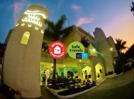 Mar Celeste All Inclusive on the beach, hotel in Manzanillo