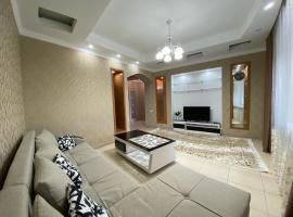 3-х комнатные апартаменты в центре, hotel in Almaty