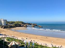 L'océan à perte de vue, la grande plage à vos pieds, hôtel à Biarritz près de: Biarritz Media Centre