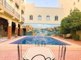 Hôtel ZAGHRO, hôtel à Ouarzazate
