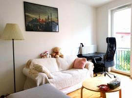 Ruhiges Einzelappartement an TUD & Stadtzentrum, Ferienwohnung in Dresden