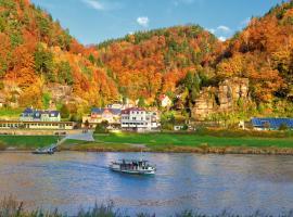 Bio- und Nationalpark Refugium Schmilka, Hotel in Bad Schandau