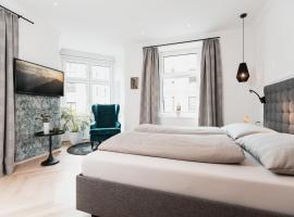 Center-Apartment - Große Wohnung im Stadtzentrum in perfekter Lage, Ferienwohnung in Innsbruck