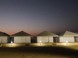 The Jaisalbagh Desert Camp, luxury tent in Jaisalmer